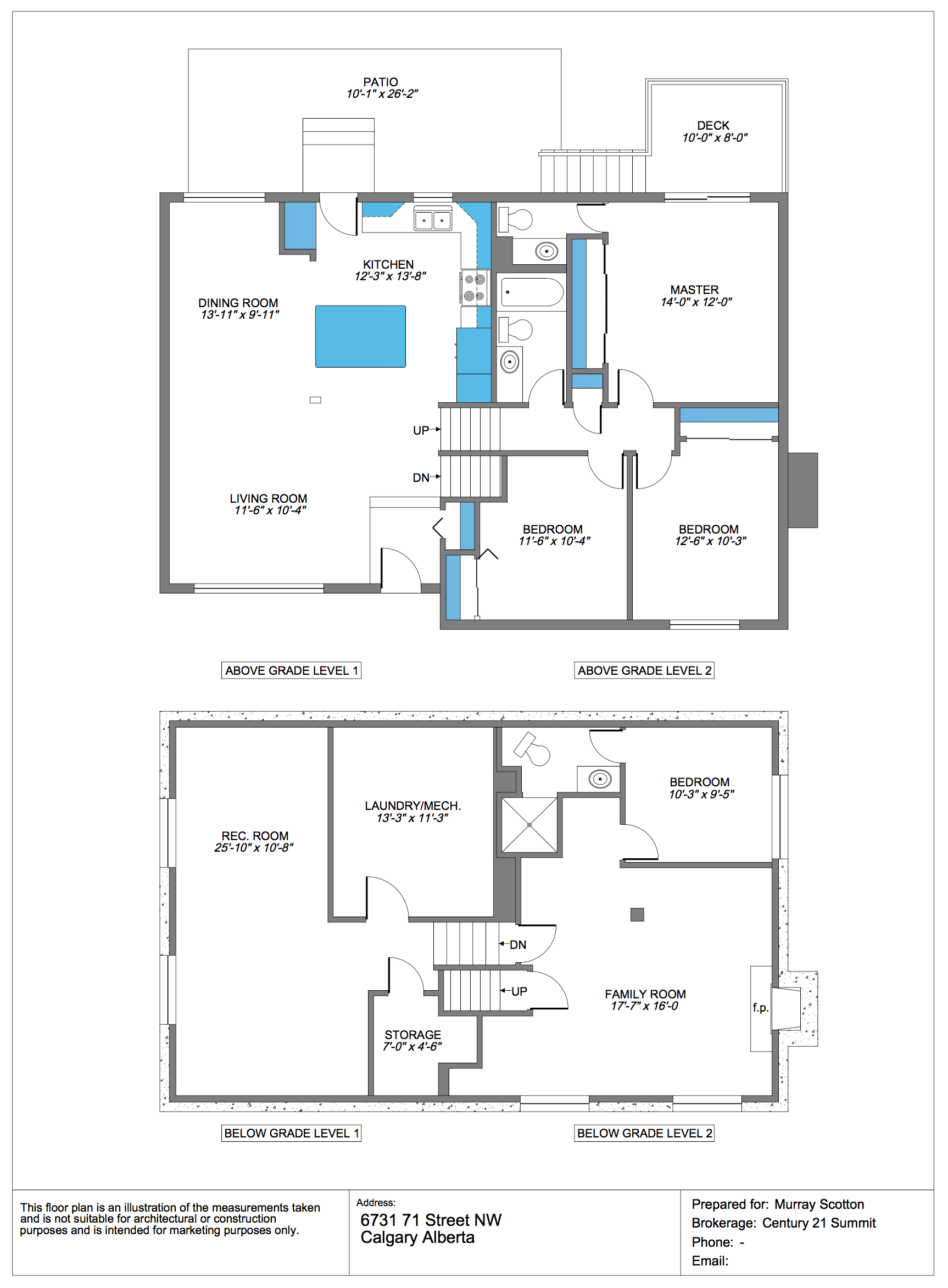 floor plans 4 exposure