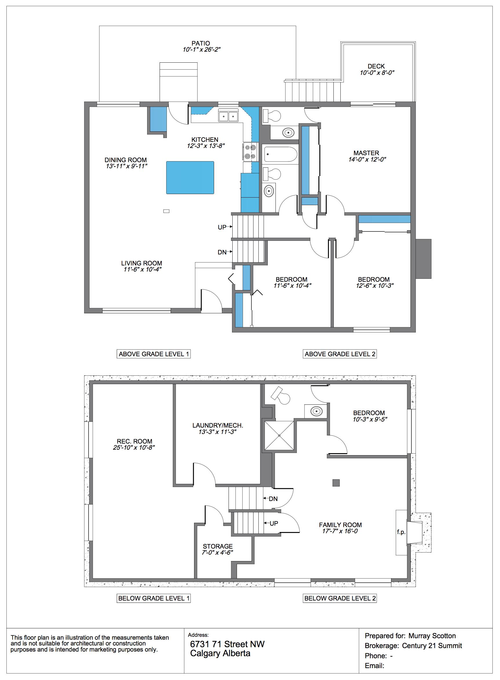 floor plans 4 exposure